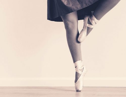 Aspiring ballerina's wanting to go en pointe…..